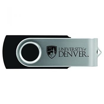 University of Denver-8GB 2.0 USB Flash Drive-Black