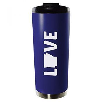 16 oz Vacuum Insulated Tumbler with Lid - Arkansas Love - Arkansas Love