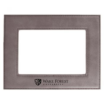 Wake Forest University-Velour Picture Frame 4x6-Grey
