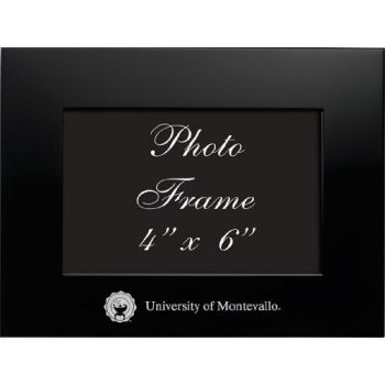 University of Montevallo - 4x6 Brushed Metal Picture Frame - Black