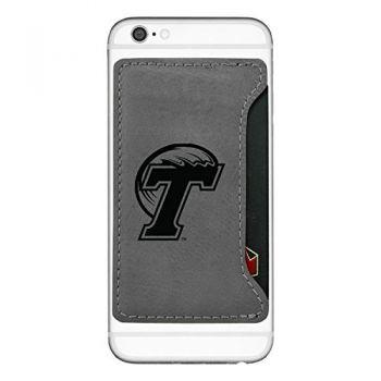 Tulane University-Cell Phone Card Holder-Grey
