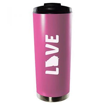 16 oz Vacuum Insulated Tumbler with Lid - Georgia Love - Georgia Love