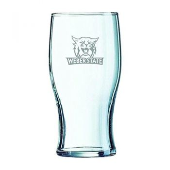 Weber State University-Irish Pub Glass