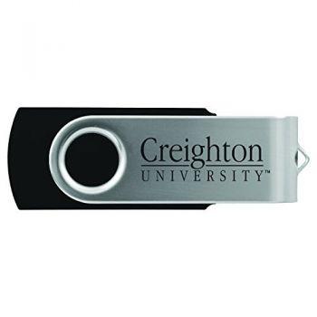 Creighton University -8GB 2.0 USB Flash Drive-Black