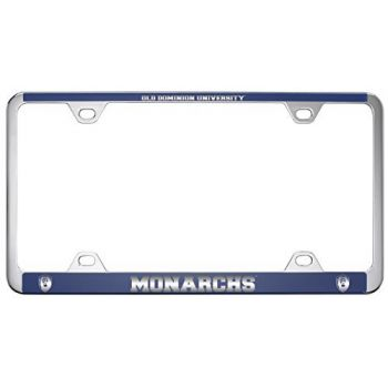 Old Dominion University -Metal License Plate Frame-Blue