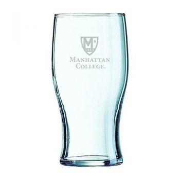 Manhattan College-Irish Pub Glass