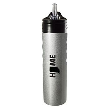 24 oz Stainless Steel Sports Water Bottle - Indiana Home Themed - Indiana Home Themed