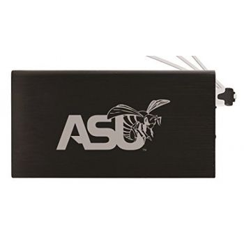 8000 mAh Portable Cell Phone Charger-Alabama State University -Black