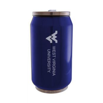 West Virginia University - Stainless Steel Tailgate Can - Blue