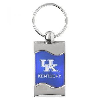 University of Kentucky - Wave Key Tag - Blue