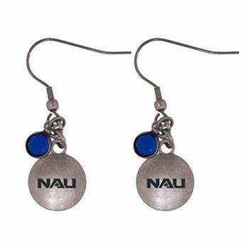 Northern Arizona University-Frankie Tyler Charmed Earrings