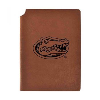 University of Florida Velour Journal with Pen Holder|Carbon Etched|Officially Licensed Collegiate Journal|