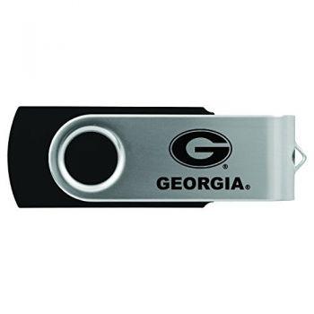 University of Georgia -8GB 2.0 USB Flash Drive-Black