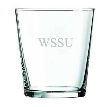 Winston-Salem State University -13 oz. Rocks Glass