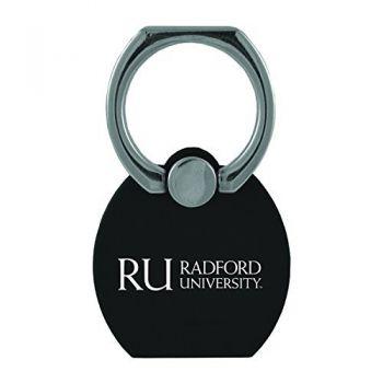 Radford University|Multi-Functional Phone Stand Tech Ring|Black