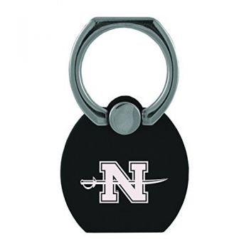 Nicholls State University|Multi-Functional Phone Stand Tech Ring|Black
