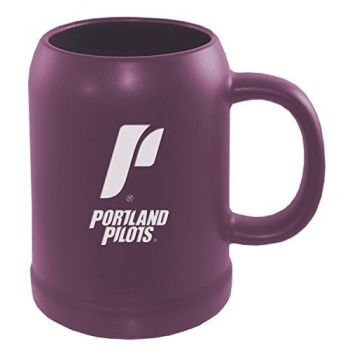 The University of Portland-22 oz. Ceramic Stein Coffee Mug-Purple