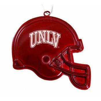 University of Nevada, Las Vegas - Chirstmas Holiday Football Helmet Ornament - Red