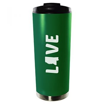 16 oz Vacuum Insulated Tumbler with Lid - Mississippi Love - Mississippi Love