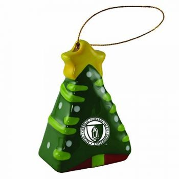 Central Connecticut University-Christmas Tree Ornament