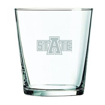 Arkansas State University -13 oz. Rocks Glass