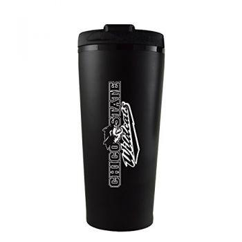 California State University, Chico-16 oz. Travel Mug Tumbler-Black
