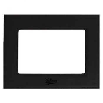 Indiana University-Velour Picture Frame 4x6-Black