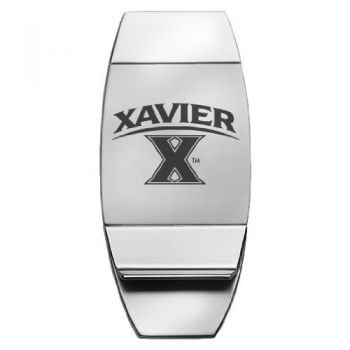 Xavier University - Two-Toned Money Clip
