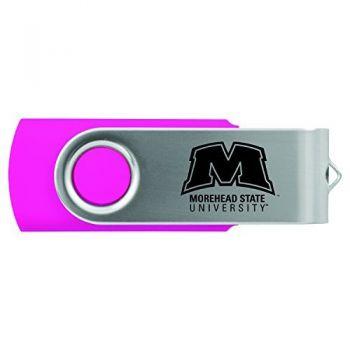 Morehead State University -8GB 2.0 USB Flash Drive-Pink