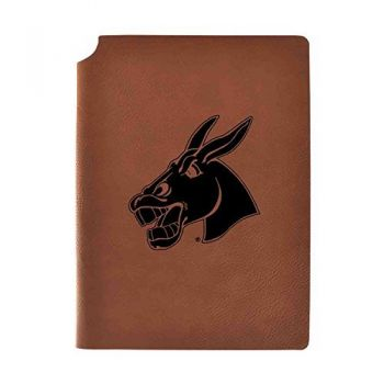 University of Central Missouri Velour Journal with Pen Holder Carbon Etched Officially Licensed Collegiate Journal 
