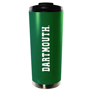 Dartmouth College-16oz. Stainless Steel Vacuum Insulated Travel Mug Tumbler-Green