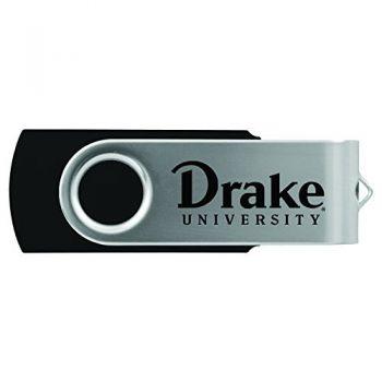 Drake University-8GB 2.0 USB Flash Drive-Black