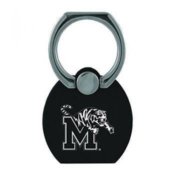 University of Memphis|Multi-Functional Phone Stand Tech Ring|Black