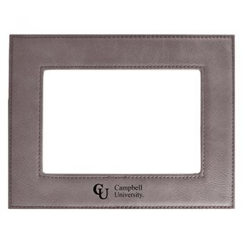 Campbell University-Velour Picture Frame 4x6-Grey