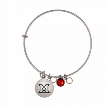 Miami University-Frankie Tyler Charmed Bracelet