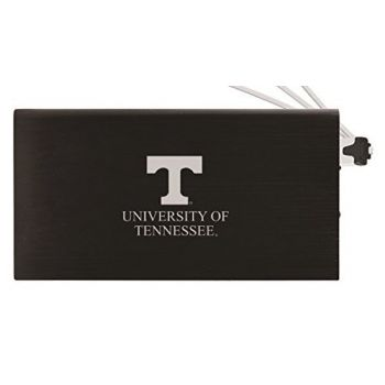 8000 mAh Portable Cell Phone Charger-University of Tennessee -Black