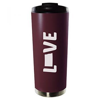 16 oz Vacuum Insulated Tumbler with Lid - North Dakota Love - North Dakota Love