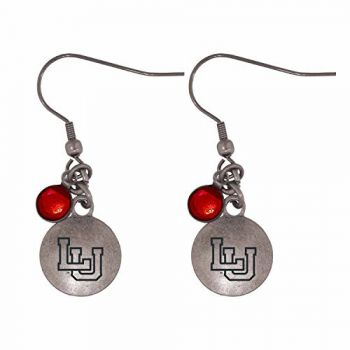 Lamar University-Frankie Tyler Charmed Earrings