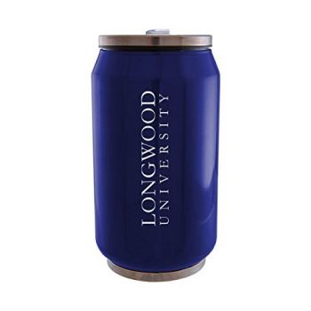 Longwood University - Stainless Steel Tailgate Can - Blue