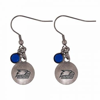 Georgia Southern University-Frankie Tyler Charmed Earrings