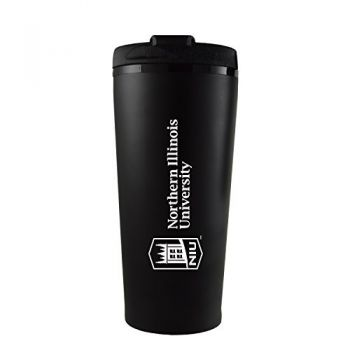 Northern Illinois University -16 oz. Travel Mug Tumbler-Black