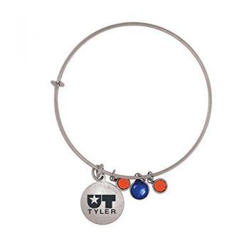 University of Texas at Tyler-Frankie Tyler Charmed Bracelet
