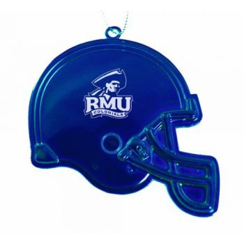 Robert Morris University - Christmas Holiday Football Helmet Ornament - Blue