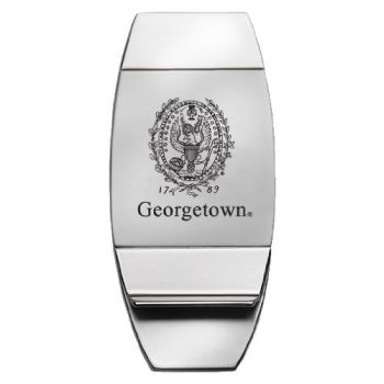 Georgetown Hoyas - Two-Toned Money Clip