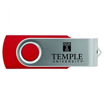 Temple University -8GB 2.0 USB Flash Drive-Red