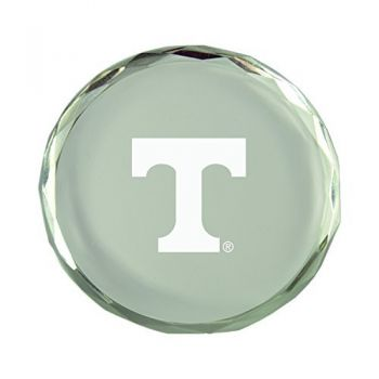 University of Tennessee-Crystal Paper Weight