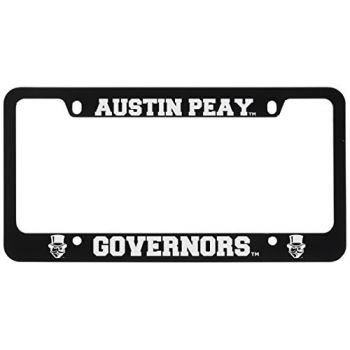Austin Peay State University -Metal License Plate Frame-Black
