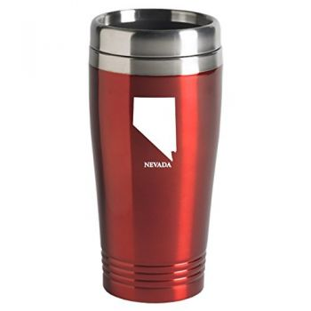 16 oz Stainless Steel Insulated Tumbler - Nevada State Outline - Nevada State Outline