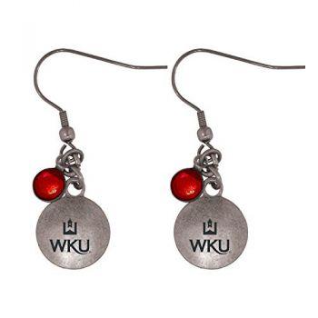 Western Kentucky University-Frankie Tyler Charmed Earrings