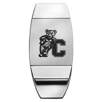 Cornell University - Two-Toned Money Clip - Silver